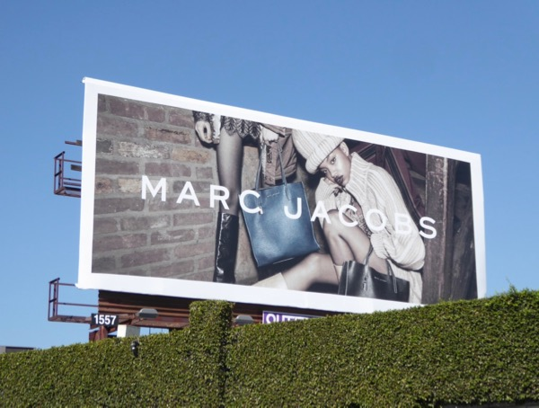 Marc Jacobs FW17 fashion billboard