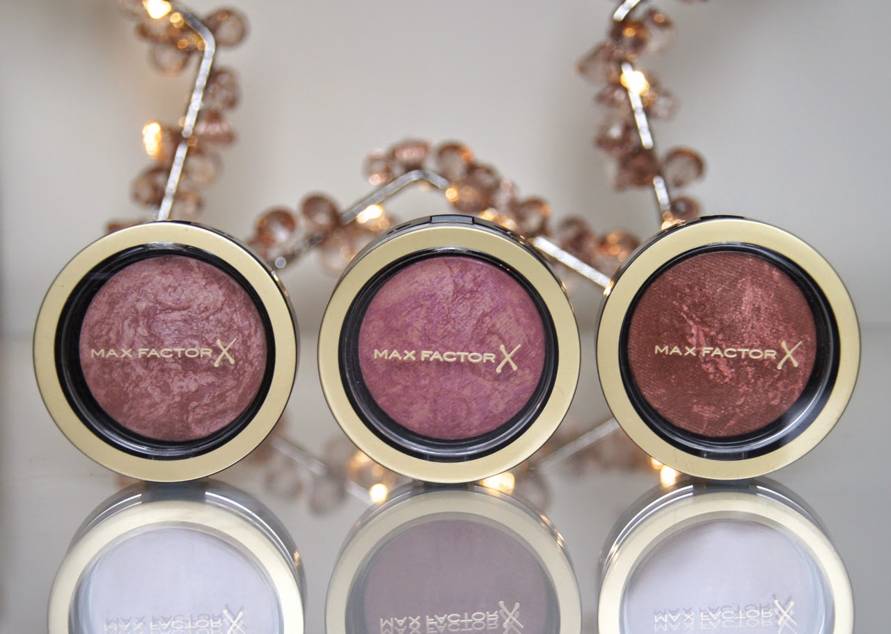 max factor creme puff blushes review swatches