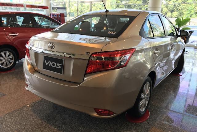 gia xe toyota vios 5 - So sánh Chevrolet Aveo và Toyota Vios tại Việt Nam - Muaxegiatot.vn