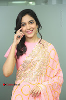 Actress Ritu Varma Pos in Beautiful Pink Anarkali Dress at at Keshava Movie Interview .COM 0032.JPG