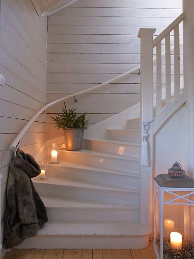 Beautifully designed and inspiring staircase - Found on Hello Lovely Studio
