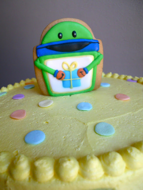 Team Umizoomi Bot Birthday Cake