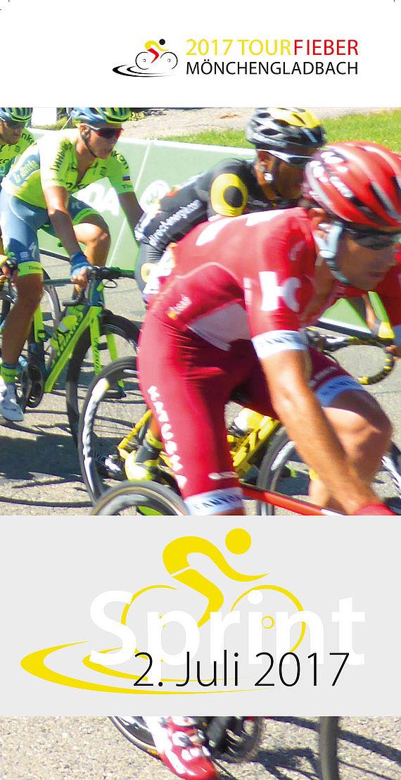 Durchfahrt Der Tour De France 2017 Durch Mönchengladbach 2 Juli