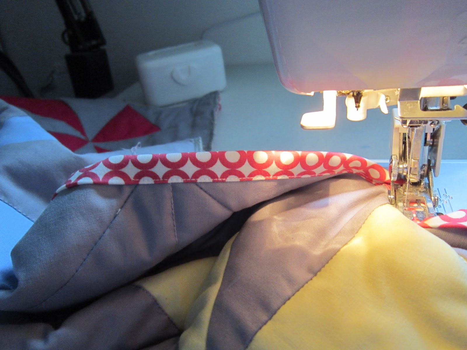 Perfect Finish Upholstery Fabric Fascination Binding Your Quilt The Perfect Finish