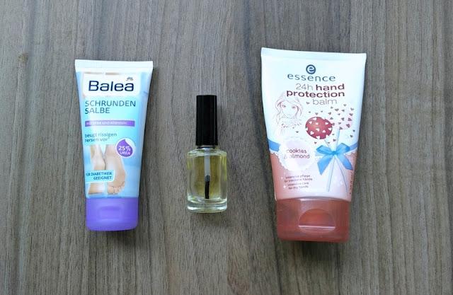 Balea jojoba oil essence hand cream pamper time routine essentials