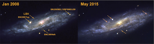 SN2015bh—the end of a star or an 'impostor' supernova?