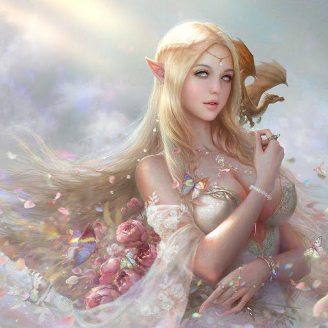 Fantasy Girl 3.0 Wallpaper Engine