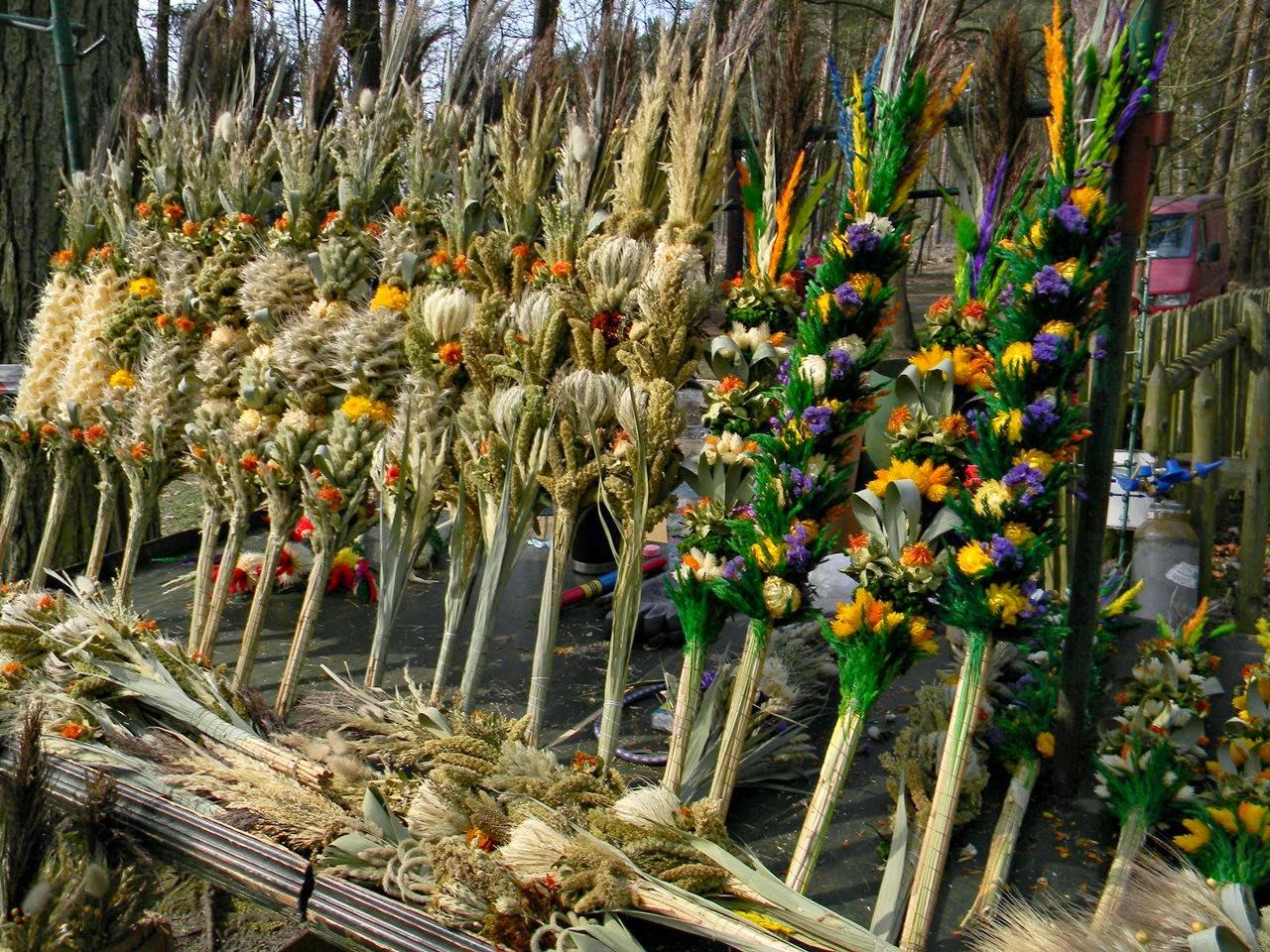 rękodzieło, niedziela palmowa, sztuka ludowa