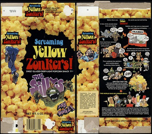 Amazon SCREAMING YELLOW ZONKERS! Ltd Edition Crispy  - screaming yellow zonkers