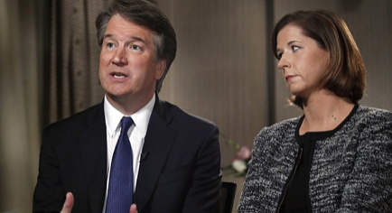 America tears itself apart over Trump's 'belligerent drunk sexual assaulter' Supreme Court nominee: A THIRD woman is set to 'risk her life' and accuse Brett Kavanaugh after even his Yale roommate turned on him