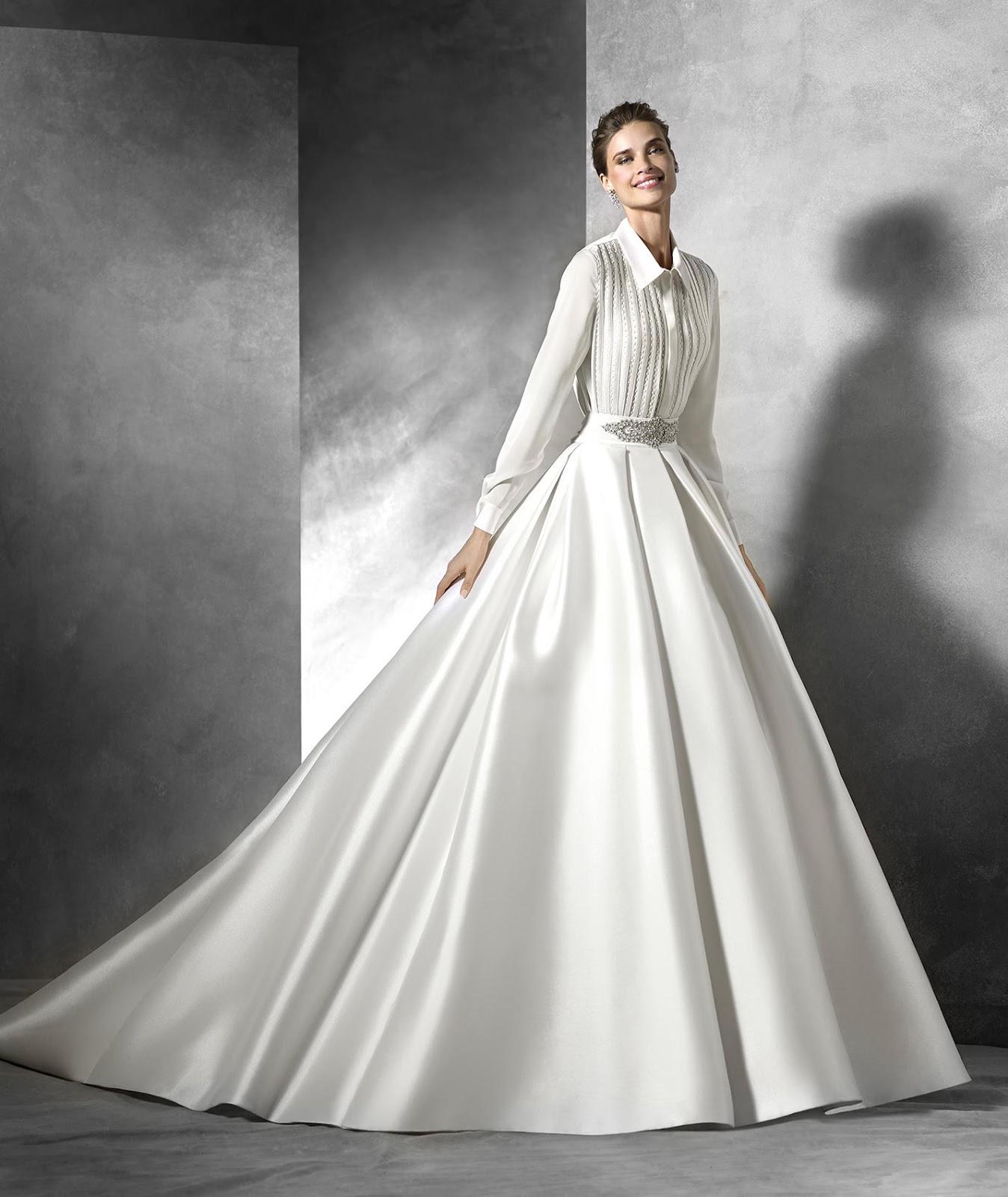 superior quality 82126 0ea70 Pronovias collezioni sposa 2016, dei modelli originali ...