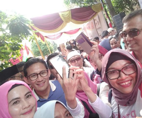 Sejumlah Komunitas di Bojongkulur Deklarasi Pemenangan Prabowo-Sandi