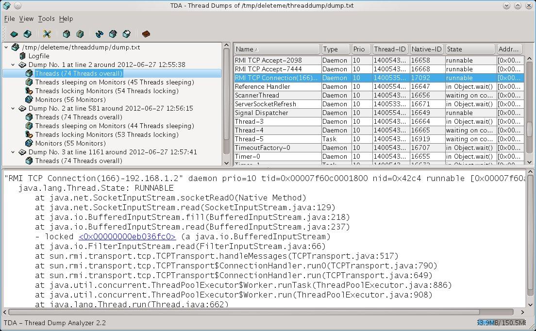Simple Tools To Analyze Thread Dumps | Planet JBoss Developer