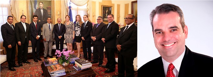 Danilo recibe a Espaillat y otros líderes de la diáspora en palacio; Abinader se suma al apoyo