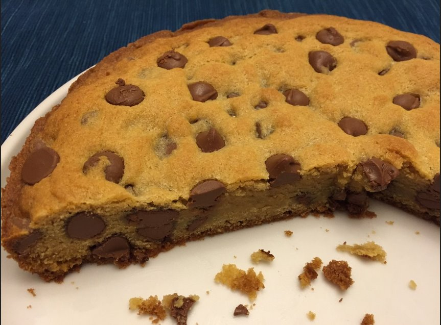 how to make chocolate chip cookie cake best recipe ever