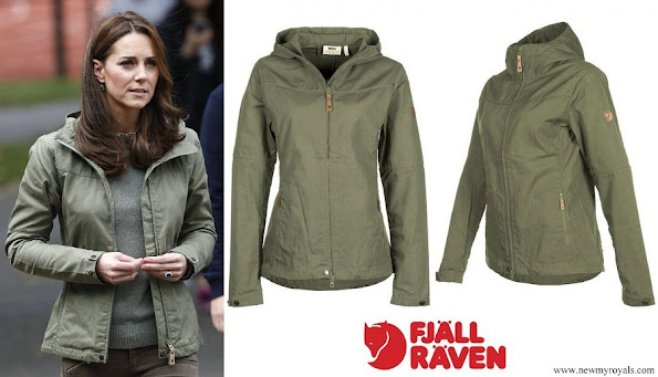 Kate Middleton wore Fjallraven Stina Jacket