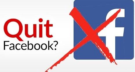 How Do You Quit Facebook