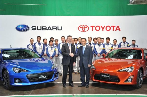 BRZ và FT 86 ra đời với cái bắt tay giữa hai ông lớn Subaru và Toyota Nhật Bản