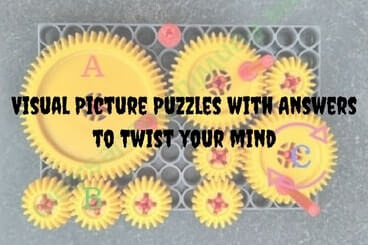 Visual Picture Puzzles with Answers to Twist your mind