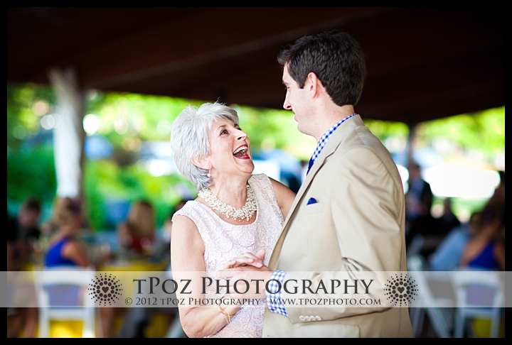 MOther Son Dance Port Annapolis Marina Wedding