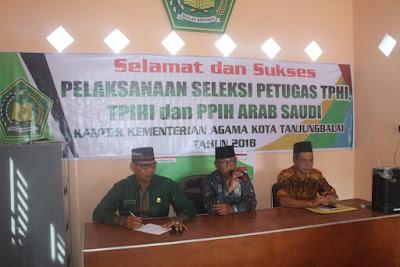 Kemenag Tanjungbalai Buka Seleksi Petugas Haji