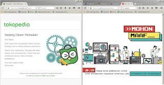 Bukan diretas, Ini alasan Website Bukalapak, Tokopedia, dan Jd.id Tidak Bisa Diakses