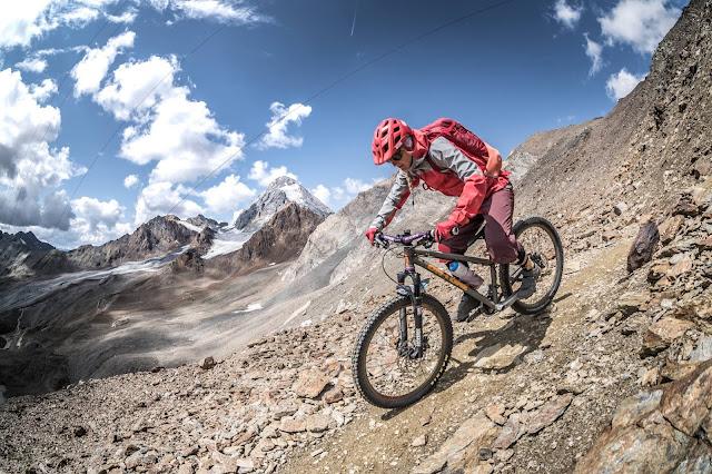 Krasse Mountainbike Tour MTB Bormio Casati Hütte