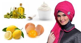 Cara Merawat Rambut Memakai Hijab Konsumsi makanan bergizi