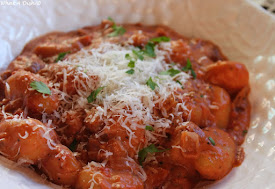 Recently- Gnocchi in Creamy Tomato Sauce