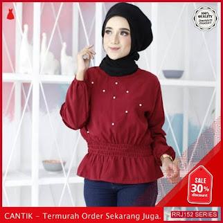 Jual RRJ152A116 Atasan Qiara Blouse Wanita Sf Terbaru Trendy BMGShop