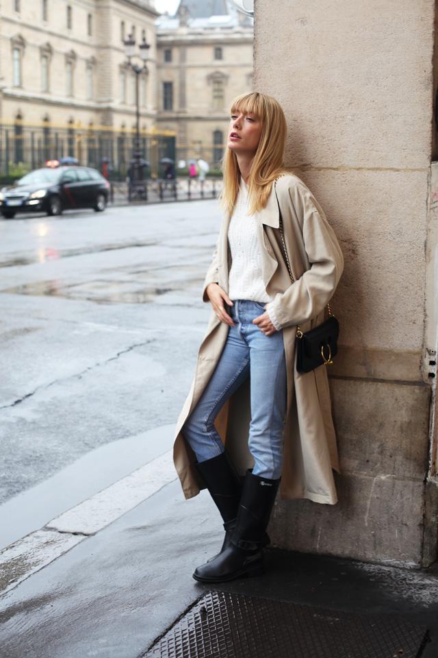 Si vous êtes à Paris aujourd\u0027hui c\u0027est la chaussure à porter quand il pleut  toute la journée! Bottes / Boots Macadame Aigle