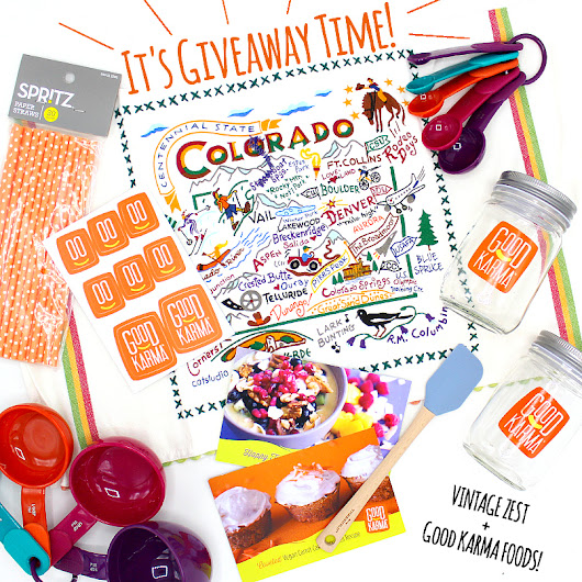Giveaway with Good Karma Foods' Drinkable Yogurts and Flaxmilk!
