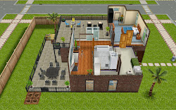 sims freeplay plans houses diy quest basement upstairs housing patio