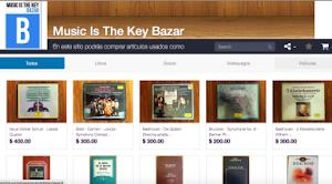 Music Is The Key Bazar