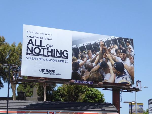 All or Nothing season 2 billboard
