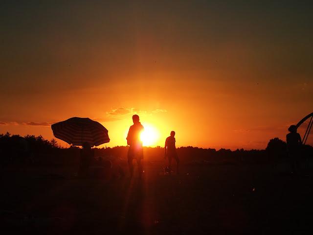 Zachód słońca na bułgarskim wybrzeżu
