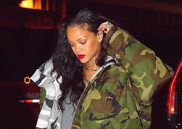 2017-01-08 リアーナ(Rihanna)ニューヨークにて。