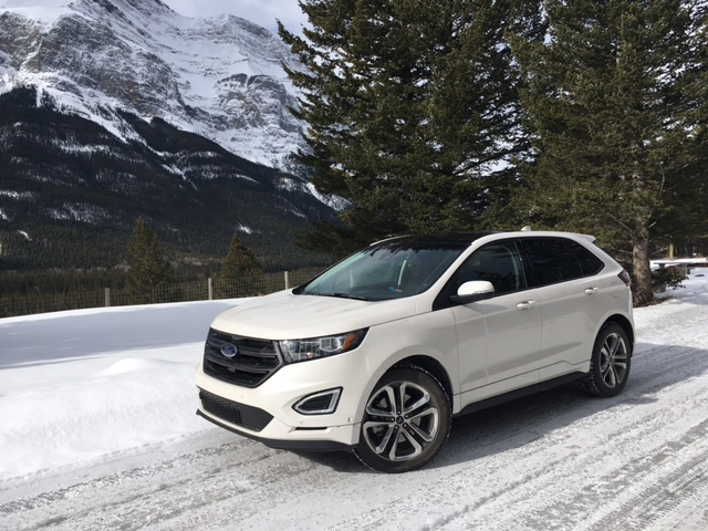 The Edge Sport Came Equipped With Some Sweet Looking  Wheels Fitted With Toyo Winter Tires Which Provided Plenty Of Traction In The Couple Of Icy