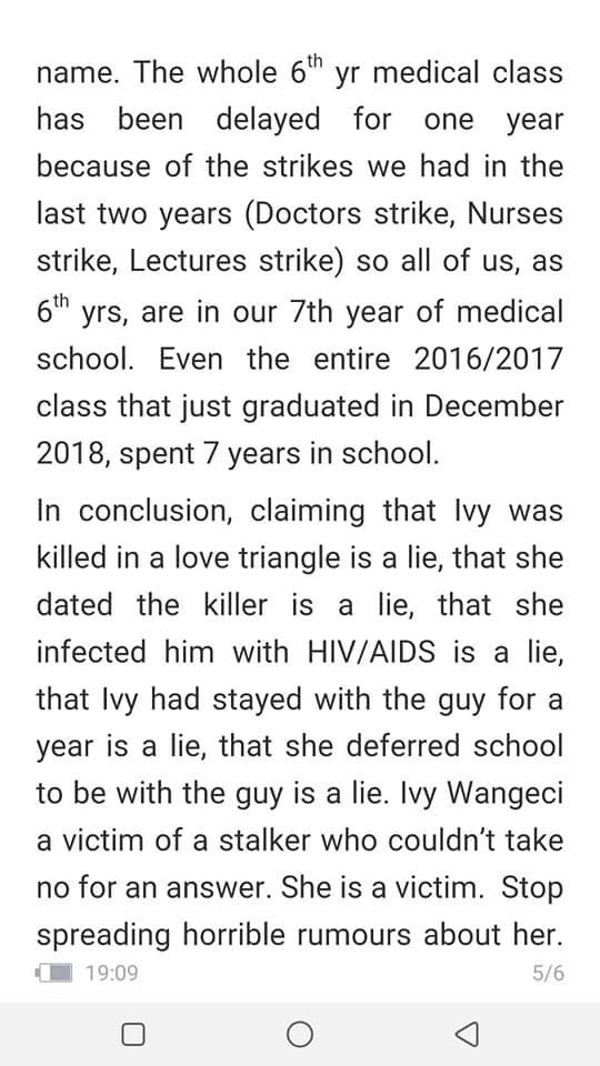 speak%2B5 - Late IVY WANGECHI's classmate speaks and drops a shocker on her alleged boyfriend who killed her, clears HIV rumour.