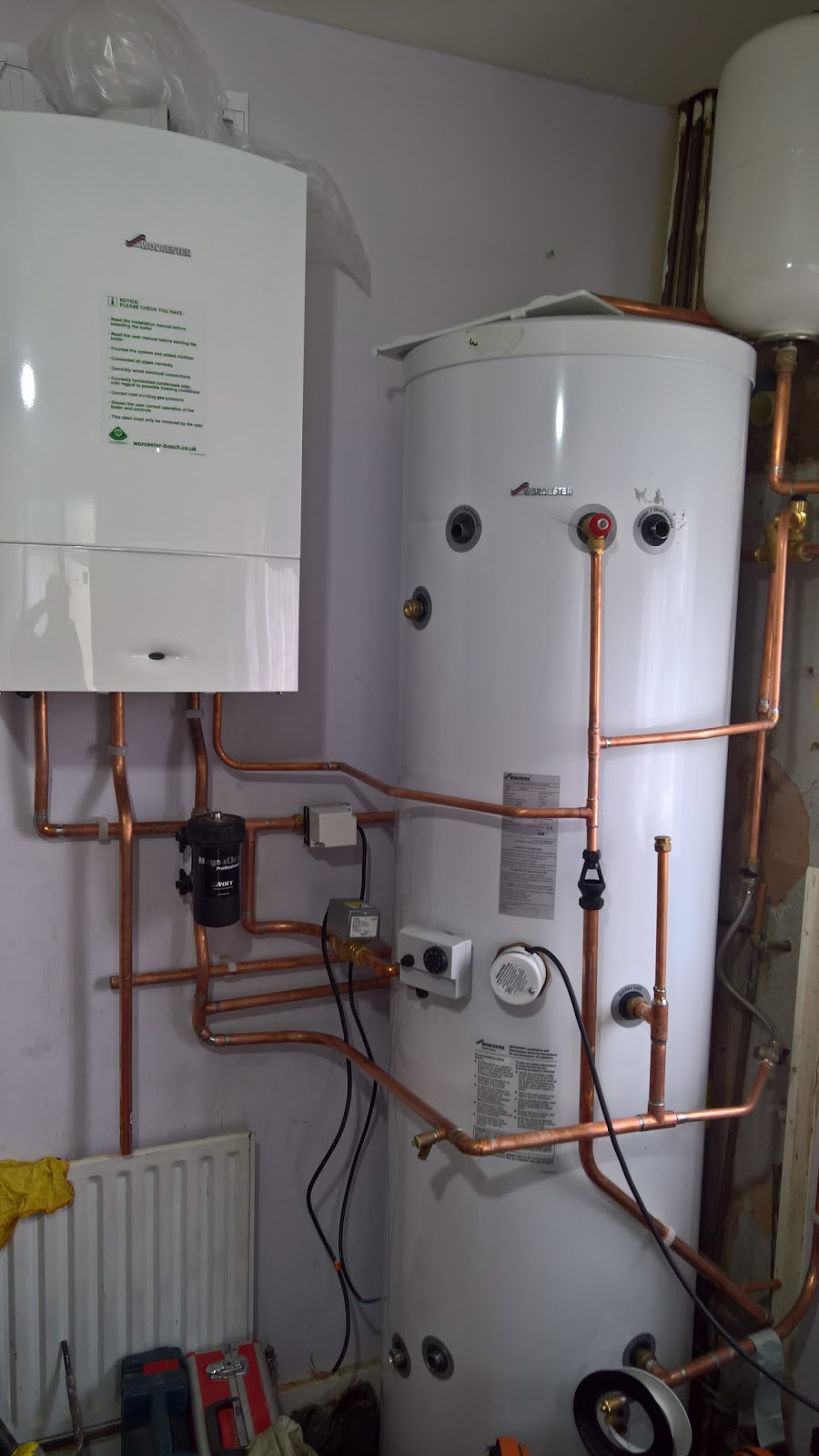 Installation & Servicing of domestic unvented hot water storage ...