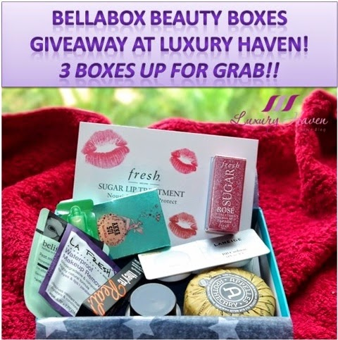 bellabox luxury haven lifestyle blog giveaways