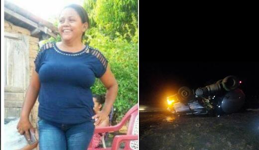 Corpo de mulher anapuruense é encontrada no IML de São Luís; ela foi vítima do acidente com o caminhão tanque no início do mês de dezembro de 2017 em Anapurus