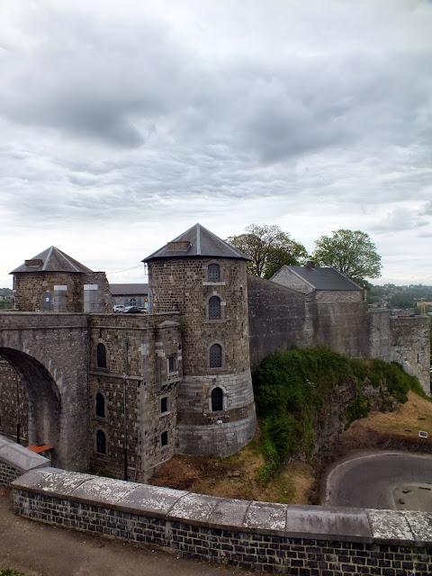puerta de la ciudadela de Namur