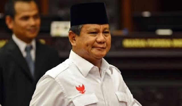 Prabowo: Kita Harus Menang dengan Selisih di Atas 25 Persen