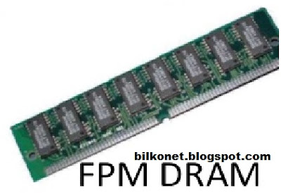 Jenis-Jenis RAM Yang Harus Anda Ketahui - FPM DRAM (First Page Mode DRAM)