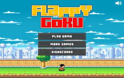 Flappy Goku - Jeu Flappy Like sur PC