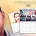 Calendario 2018 de pared para imprimir editable gratis