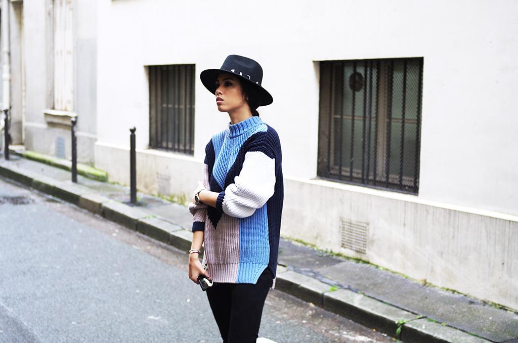 Elizabeth l Faux suede leggings outfit blog mode l Zara Asos Celine l THEDEETSONE l http://thedeetsone.blogspot.fr