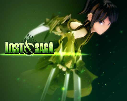 Wallpaper Lostsaga Character Assasin Full Epic Gear