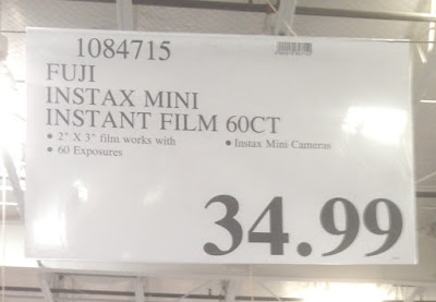 Deal for the Fuji Instax Mini Instant Film Multi-Pack at Costco